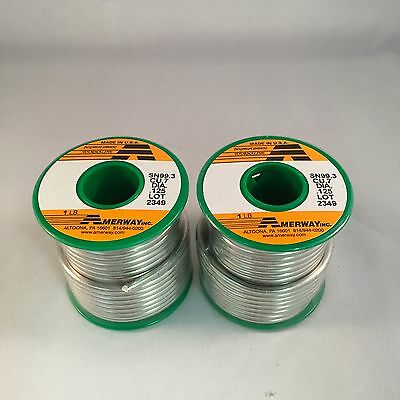 2 LB Amerway Lead Free Solder For Copper Foil, Jewelry - Stained Glass Supplies