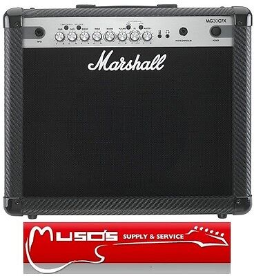 Marshall MG30CFX 30W Guitar Combo w/FX $319 + Postage ($10 For Greater Sydney)