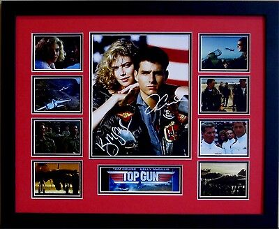 Top Gun Tom Cruise Signed Limited Edition Framed Memorabilia