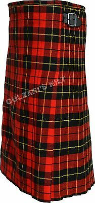 Highland Scottish Wallace Tartan Traditional New Men Kilts