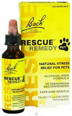 Bach Rescue Remedy Pet Natural Stress Relief 20ml