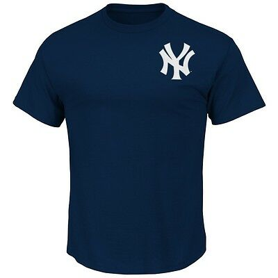 MLB Baseball NY NEW YORK YANKEES T-Shirt Wordmark von Majestic