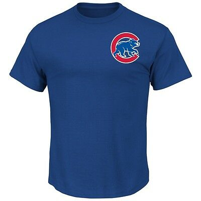 MLB Baseball CHICAGO CUBS T-Shirt Wordmark von Majestic