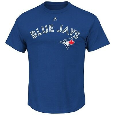 MLB Baseball TORONTO BLUE JAYS T-Shirt Wordmark von Majestic