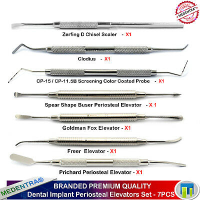 Implant Surgery Kit Sinus Lift Instruments Pritchard Periosteal Dental Chisels