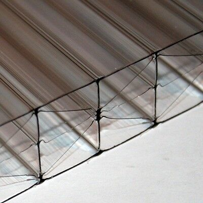 25mm Polycarbonate Roofing Sheet Clear Bronze Opal Conservatory Roof Sheeting