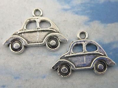 wholesale 30/90pcs Retro style lovely car alloy charms Pendants 22x15mm