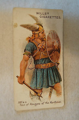 Vintage - 1910 - Wills - Vice Regal - Arms & Armour - A Viking