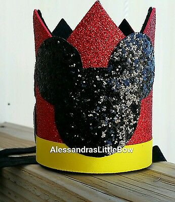 Mickey mouse crown,Mickey mouse headband,Minnie mouse birthday outfit,Mickey