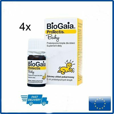 Biogaia Protectis Probiotic Drops For Baby Children 5ml Eur 45
