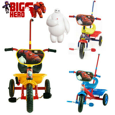 Disney Big Hero 6 Baymax Bike Trike Tricycle 3 Wheel Car Kid Toddler Ride On Toy