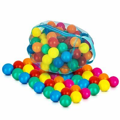 Childrens Plastic Play Soft Balls For Ball Pits Pen Pool Multicoloured Kids Toys