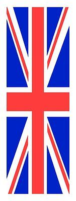2 x GB Union Jack Flag Euro Car Number Plate self adhesive vinyl stickers