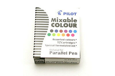 Pilot Parallel Calligraphy Pen Refill - 12 Colors  assorted ink cartridges