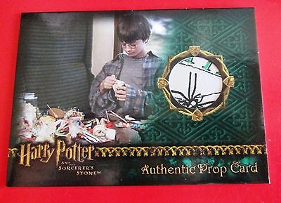 Harry Potter and the Sorcerers Stone authentic prop card  Wizard Candy 280/538