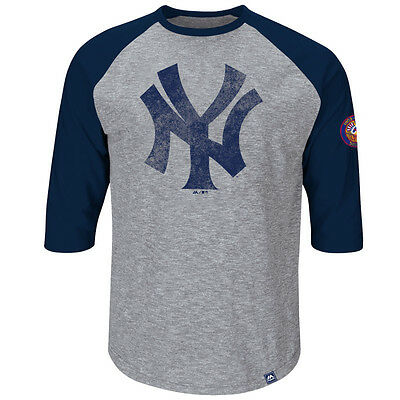 MLB Baseball NEW YORK NY YANKEES Shirt 3/4 sleeves Home Stretch von Majestic