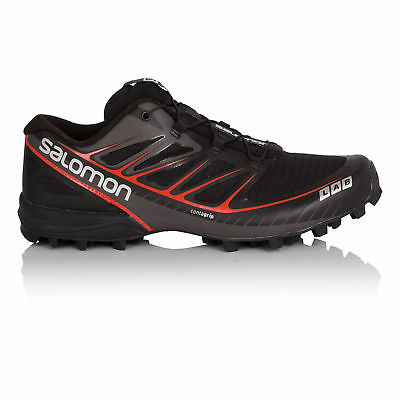 Salomon S-Lab Speed Mens Black Sensifit Trail Running Sports Shoes Trainers