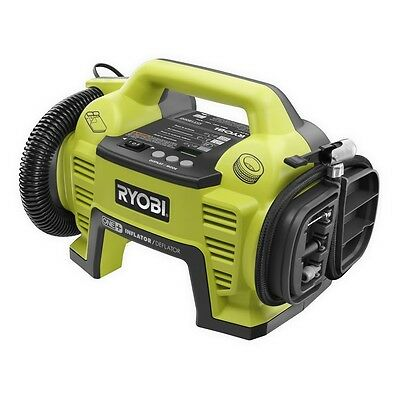 Ryobi One+ 18V Cordless Air Inflator Compresser And Deflator*No Battery Include*