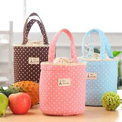 Chic Waterproof Sweet Thermal Cooler Insulated Lunch Box Carry Bag Tote Picnic Z