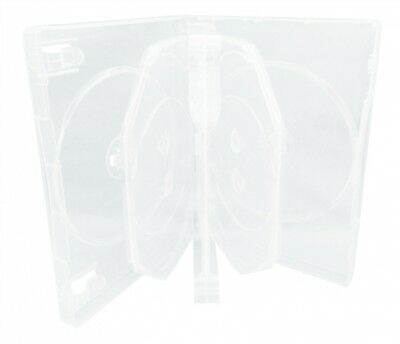(SAMPLE) - 1 Clear 8 Disc DVD Cases /w Patented M-Lock Hub