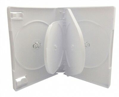(SAMPLE) - 1 White 6 Disc DVD Cases /w Patented M-Lock Hub
