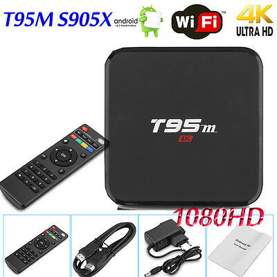 3D Smart TV BOX Android 6.0 Quad-Core 8GB/2G  Fully Loaded 4K WIFI LED Display