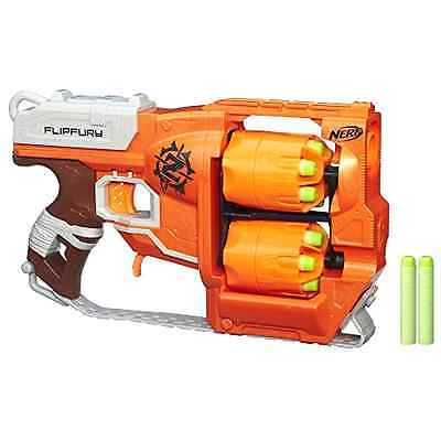 Nerf Zombie Strike FlipFury Blaster. Fun Boys Kids Gun Toy. New