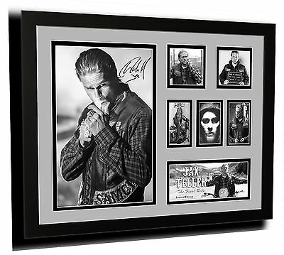 Jax Teller Sons Of Anarchy Signed Limited Edition Framed Memorabilia
