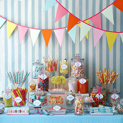 Colorful Candy 10'x10' CP Backdrop Computer Printed Vinyl Background XLX-850