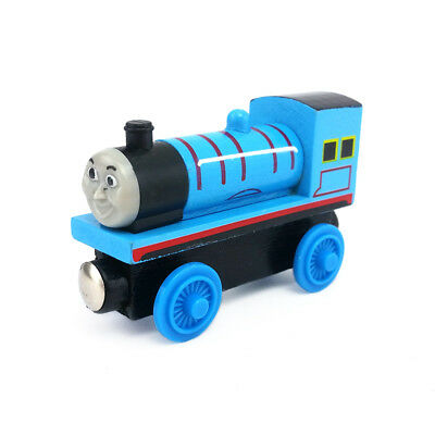 Thomas & Friends No.2 Edward Magnetic Wooden Toy Train Loose New In Stock