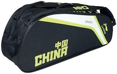 Li Ning Pro 9 Racket Black and Green Thermo