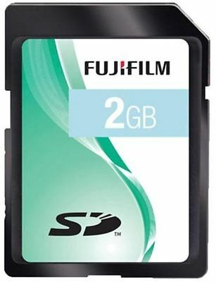 FujiFilm 2GB SD Memory Card for Fuji FinePix J10