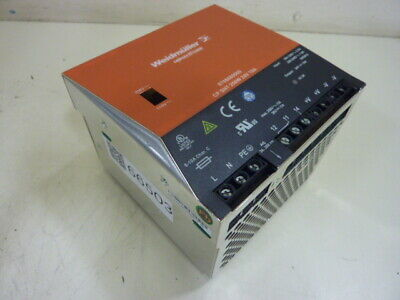 Weidmuller Power Supply 8708680000 Used #66503
