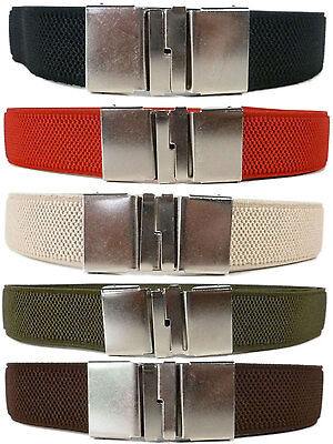 Junior/Kids Belts. Boys & Girls adjustable Sliding Clip Belts. 5-15 Years