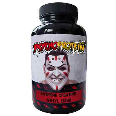Creatine Ethyl Ester Extreme Hardcore Tablets Capsules - Build Muscle Strength!