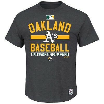 MLB Baseball T-shirt OAKLAND ATHLETICS A's Authentic Collection Property 2015