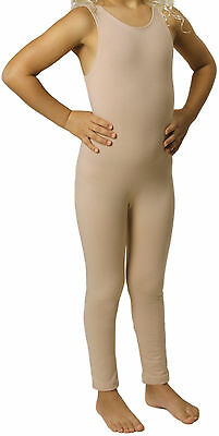 Tank Dance & Costume Unitard Childs Nude NEW Bodysuit