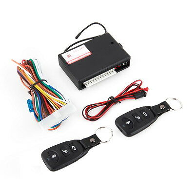 Universal Car Remote Central Kit Door Lock Vehicle Keyless Entry System 2Y