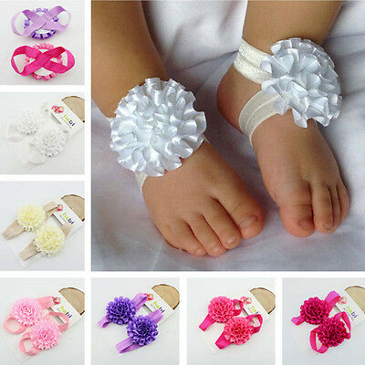 Attractive Barefoot Sandals Headband Baby Infant Kids Hairband Hair Accessories