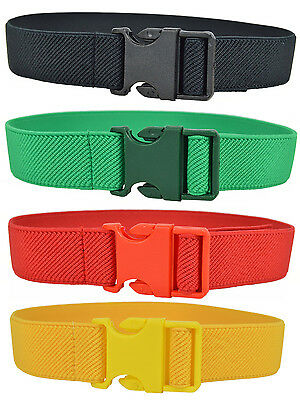 Baby / Childrens Belt, 1-4 Years Adjustable/Elasticated Belt with Plastic Buckle