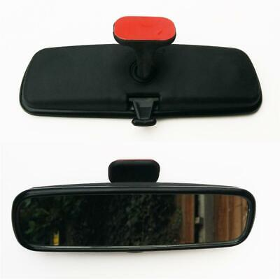 Car Interior Front Window Rear Parking Safety Mirror Glass Stick On Dipping Unit