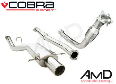Cobra Sport Subaru Impreza WRX STi Turbo Back Exhaust Resonated Sport Cat 93-00