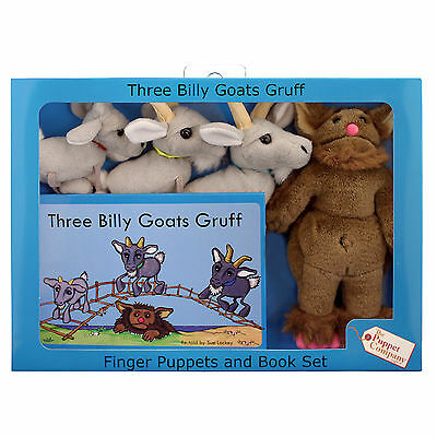 The Puppet Company - Traditional Story Sets - Three Billy Goats Gruff