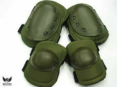 Tactical Knee +Elbow Pad set. Multicam Camo Paintball/Airsoft Protection Pads