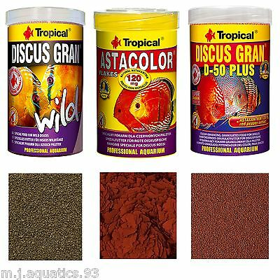 SPECIALIST PROFESSIONAL FISH FOOD FOR DISCUS FISH (Factory Sealed Genuine)