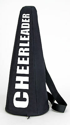"CheerLeader Black Megaphone Transportation bag 3 sizes 19""  25""  32"""