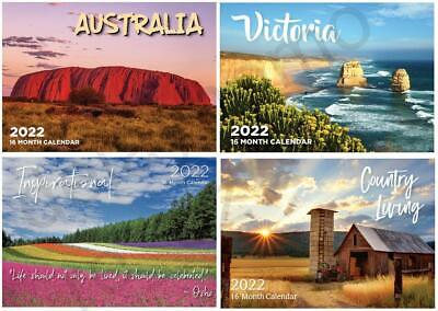 2017 Calendars Australian Landscapes Inspirational Victoria Country Living Gift
