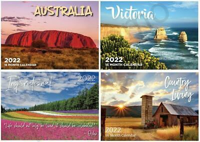 2019 Calendars Australian Landscapes Inspirational Victoria Country Living Gift