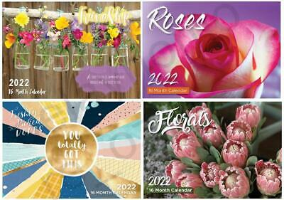 2020 Calendars Friendship / Floral / Roses / Freshly Picked Words Gift Christmas