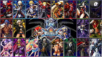 "060 BlazBlue - Fighting Game 25""x14"" Poster"